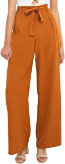 burnt orange pants womens