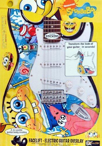 JHS & Co Ltd Spongebob Gitarrenfolie (Spongebob-Figuren)