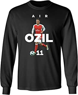 Arsenal Mesut Ozil Air Ozil Soccer Men's Long Sleeve T-Shirt