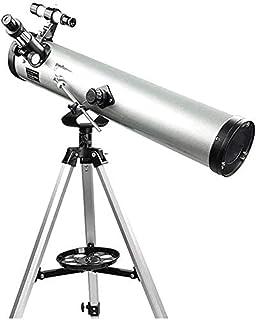 SXMY 114 mm teleskop med aluminiumlegeringsstativ, teleskop för vuxna som stargazerar – observationsteleskop och astronomi...
