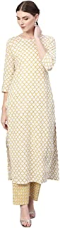 Aasi - House of Nayo Women's Cotton Straight Salwar Suit Set