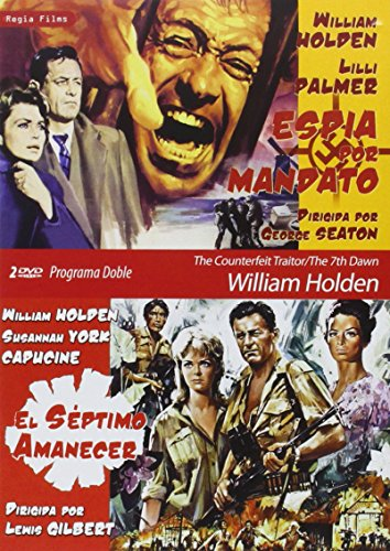 Programa Doble - William Holden (Espía Por Mandato + El Séptimo Amanecer) [DVD]