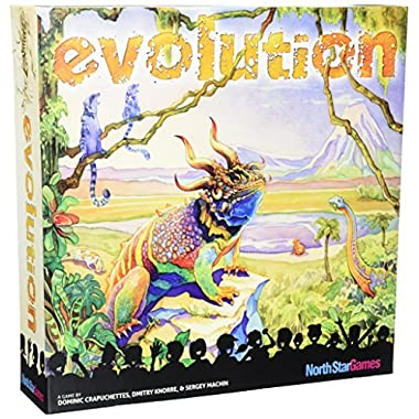 North Star Games Evolution Board Game, 1st Edition (Discontinued)