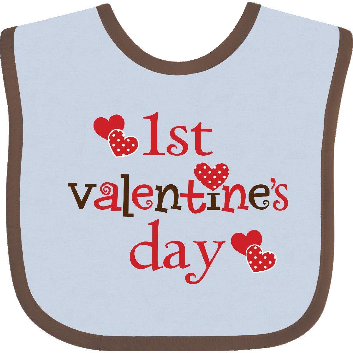 Maureen Valentine/'s Day Bib Cute Baby Bibs Baby Shower Gift My Very First Valentine/'s Day Newborn Bib Loved Bib Valentine Bib