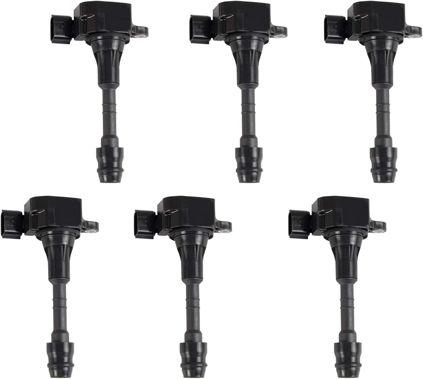 Tepeng 6 excellence pcs Ignition Coils Cheap mail order sales Pack with Nissa 2003-2006 Compatible