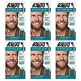 Just for Men - Lot de 6 colorations permanentes, teinture, gel colorant pour barbe et...