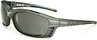 UVEX by Honeywell S2621XP Uvex Livewire Sealed Safety Eyewear with Silver Frame, Gray Lens Tint, UV Extreme and Anti-Fog Lens Coating