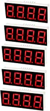 uxcell Common Cathode 12Pin 4 Bit 7 Segment 1.98 x 0.75 x 0.31 Inch 0.55