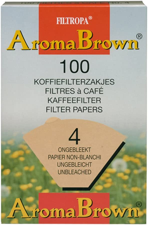 Filtropa Aroma wholesale Quantity limited Brown #4 Coffee Filter