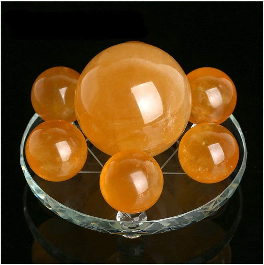 dhcsf Time sale Crystal Ball Fortune Telling Today's only Seven Star Topaz