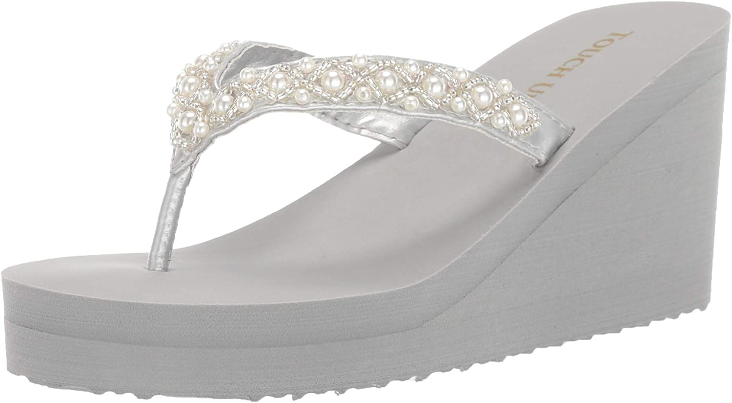 specialty shop Kansas City Mall Touch Ups Women's Wedge Sandal Shelly