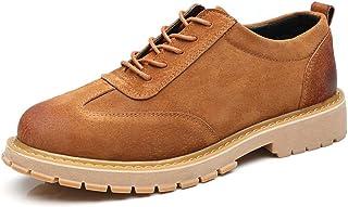 MSVBS Zapatos Boda Moda Frente De Cabeza Redonda, Cómoda Y Versátil, De Moda Masculina, Europea Y Americana, con Zapatos Informales Transpirables