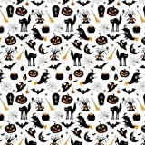 Pingianer 11,99€/m Halloween Hexe Spinne Katze 100%