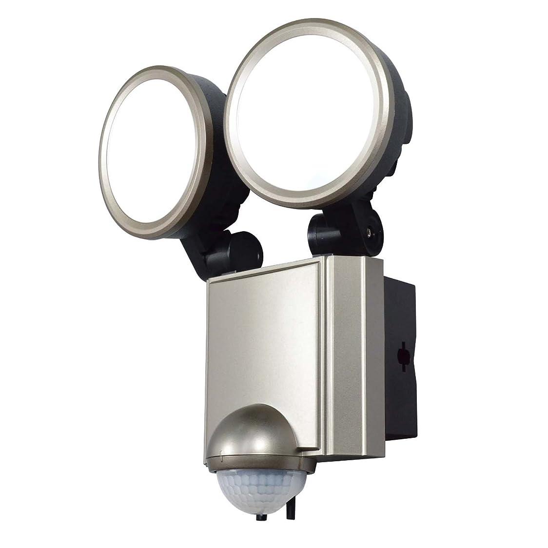 海軍暫定メイエラELPA LEDセンサーライト 2灯 ESL-SS1002AC ESL-SS1002AC