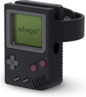 elago W5 Stand for Apple Watch Series 4 / Series 3 / Series 2 / Series 1 / 44mm / 42mm / 40mm / 38mm [Easy Access to Side Button & Digital Crown][Nightstand Mode][Patent Pending][Black]