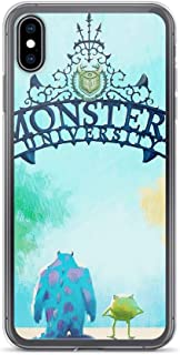 TeeTan Compatible with iPhone 7 Plus/8 Plus Case Monster Inc Sulley Mike Boo Peek a Poo Pure Clear Phone Cases Cover