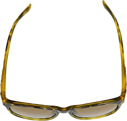 Yellow Confetti Frame Brown Polarized Lens