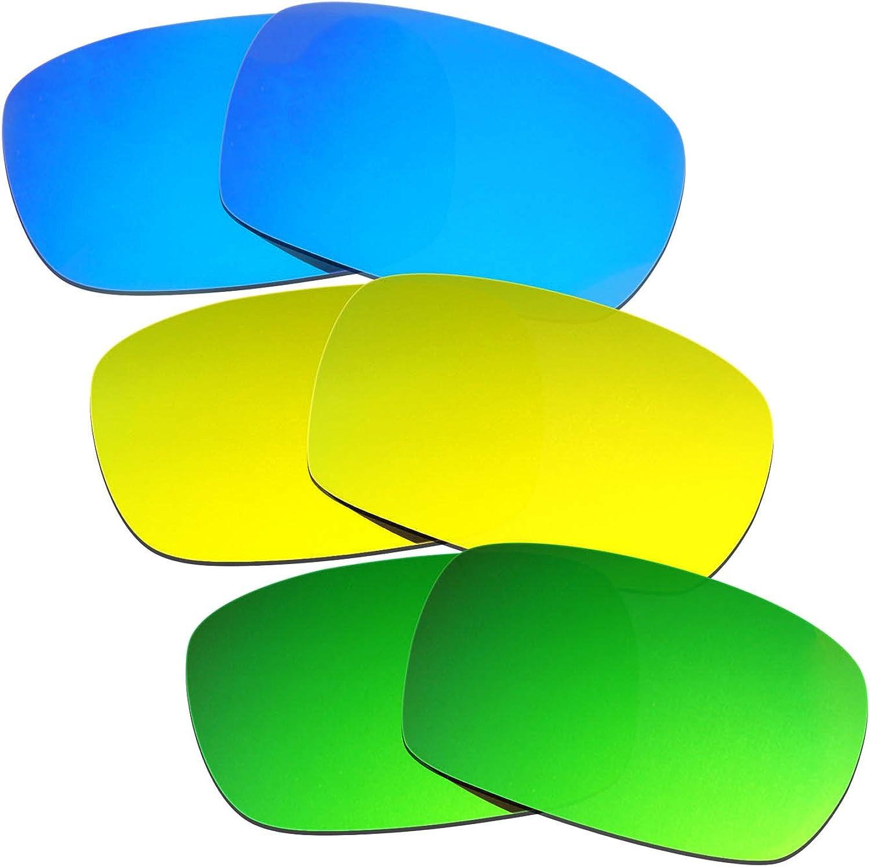 Hkuco shipfree Mens Replacement Lenses Surprise price Crankcase Oakley For Sunglasses