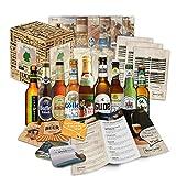specialità di birra dalla Germania (le migliori birre tedesche) come un trial Pack allaca...