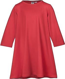 Lofbaz Girl's Comfy Cotton Long Sleeve Casual Dresses