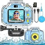 Best Digital Camera For Kids - Kids Waterproof Camera Digital Sports Camera Toys 2 Review