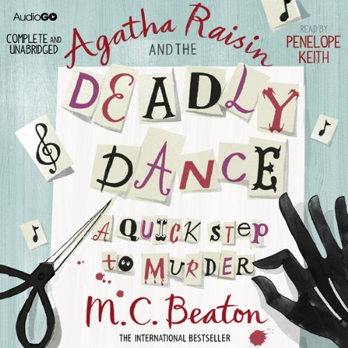 『Agatha Raisin and the Deadly Dance』のカバーアート