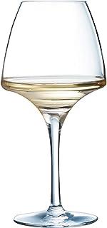 Chef & Sommelier 8011780.0 Chef&Sommelier U1008 Verre à pied Open Up Pro Tasting 32cl, en cristallin Lot de 6, Transparen...