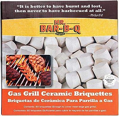 Mr. Bar-B-Q 06000Y Gas Grill Ceramic Briquettes