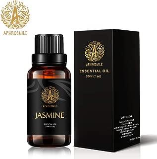 Jasmine Aromatherapy Essential Oil Fragrance, 100% Pure Jasmine Scent Essential Oil for Diffuser, Humidifier, 1oz - 30ml Therapeutic Grade Aromatherapy Jasmine Essential Oil Perfume for Home, Massage.