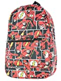 DC Comics The Flash Comic Tiles Allover Print Sublimated Travel Laptop Backpack