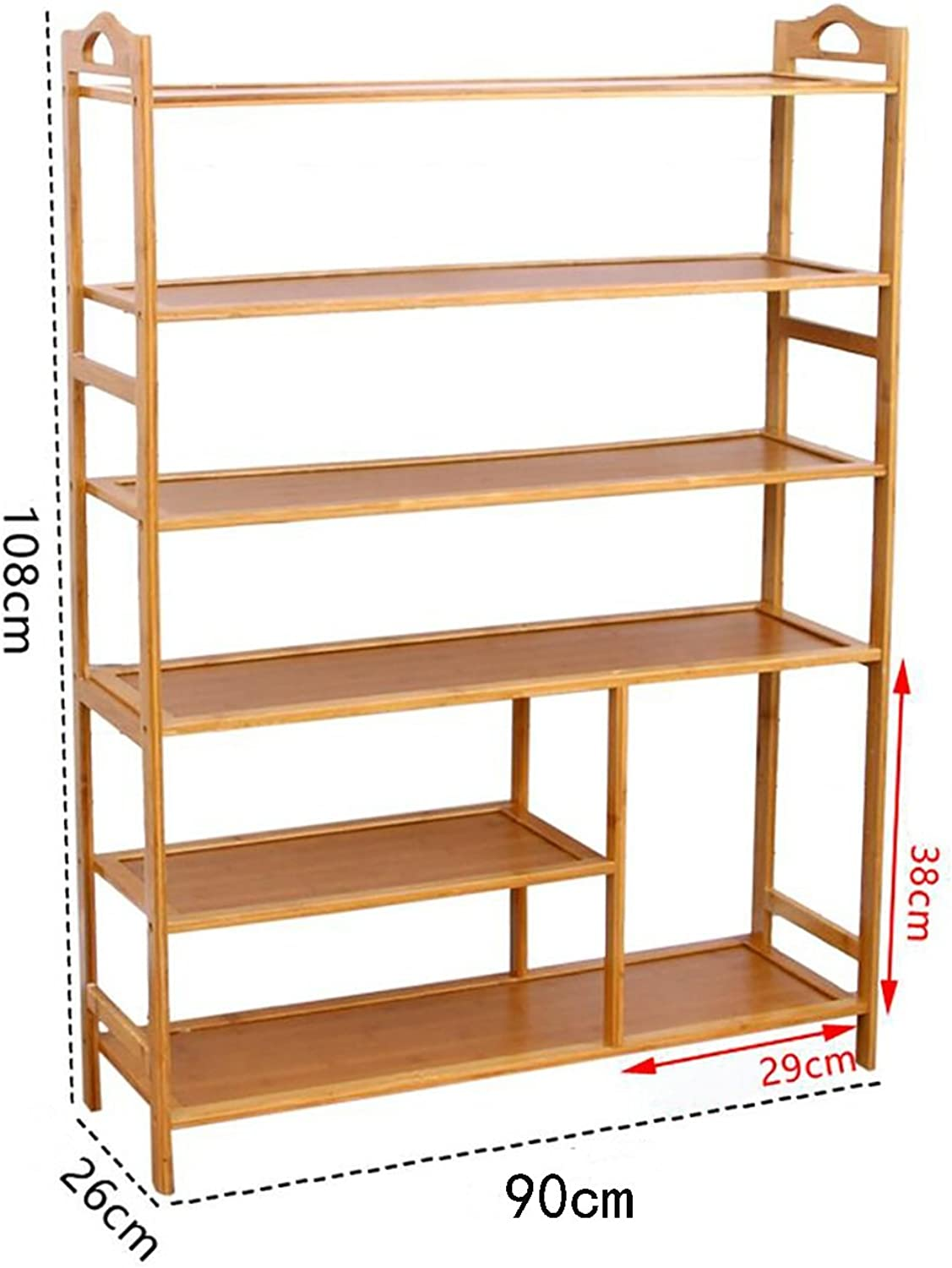 shoes Bench Organizing Rack shoes Rack Multi - Storey shoes Cabinet Wooden Display Stand Solid Wood shoes Cabinet Multi - Storey Storage shoes Racks (color   2, Size   90CM)