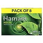 Hamam Neem Tulsi & Aloe Vera Soap, 150 g (Pack of 8)