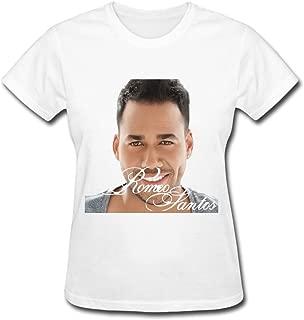 Romeo Santos Waiting for You T Shirt for Women Black