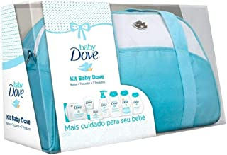kit Baby Dove Hidratação Enriquecida Bolsa + Trocador