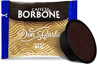 CAFFÈ BORBONE DON CARLO - MISCELA BLU - Box 100 A MODO MIO COMPATIBELE CAPSULES 7.2g