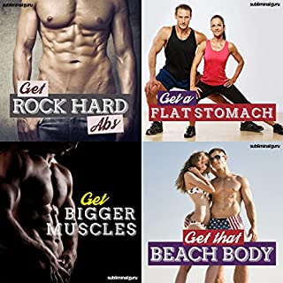 Body Building Subliminal Messages Bundle audiobook cover art