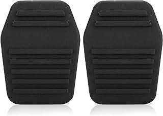 Un par de almohadillas para pedal de embrague de coche, cubierta para pedal de embrague