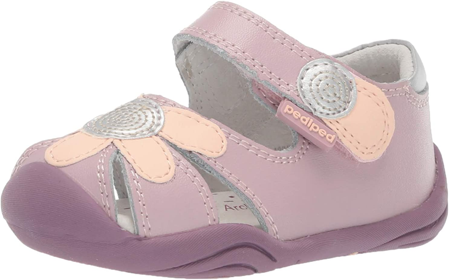 pediped Unisex-Child Daisy First Walker Shoe