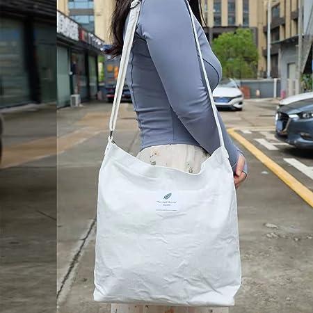 Funtlend Handtasche Damen groß Cord Tasche Damen Handtasche Shopper Damen für Uni Arbeit Mädchen Schule (B-weiss)