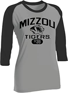 Gold Under Armour NCAA Missouri Tigers Womens Baseball Tee XX-Large