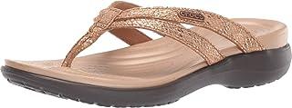 comprar comparacion Crocs Capri Strappy Flip W, Zapatos de Playa y Piscina para Mujer