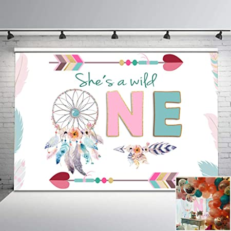 First Birthday Photo Banner Floral Antlers First Birthday Boho First Birthday Photo Banner Wild One 12 Month Photo Banner Bohemian.