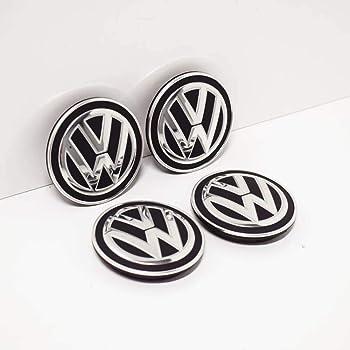 Set di 4 coprimozzi per VW con diametro esterno di 63 mm copricerchi e coprimozzi centrali coprimozzi centrali di ricambio