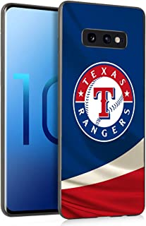 Slim Fit Samsung Galaxy S10e Case,Baseball Game Sports Thin Plastic Full Protection Matte Finish Grip Phone Cover Case for Samsung Galaxy S10E Black, Sep3 088