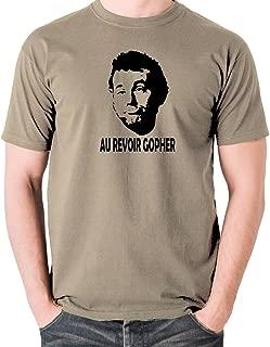 Caddyshack Inspired t Shirt - Carl Spackler, Au Revoir Gopher