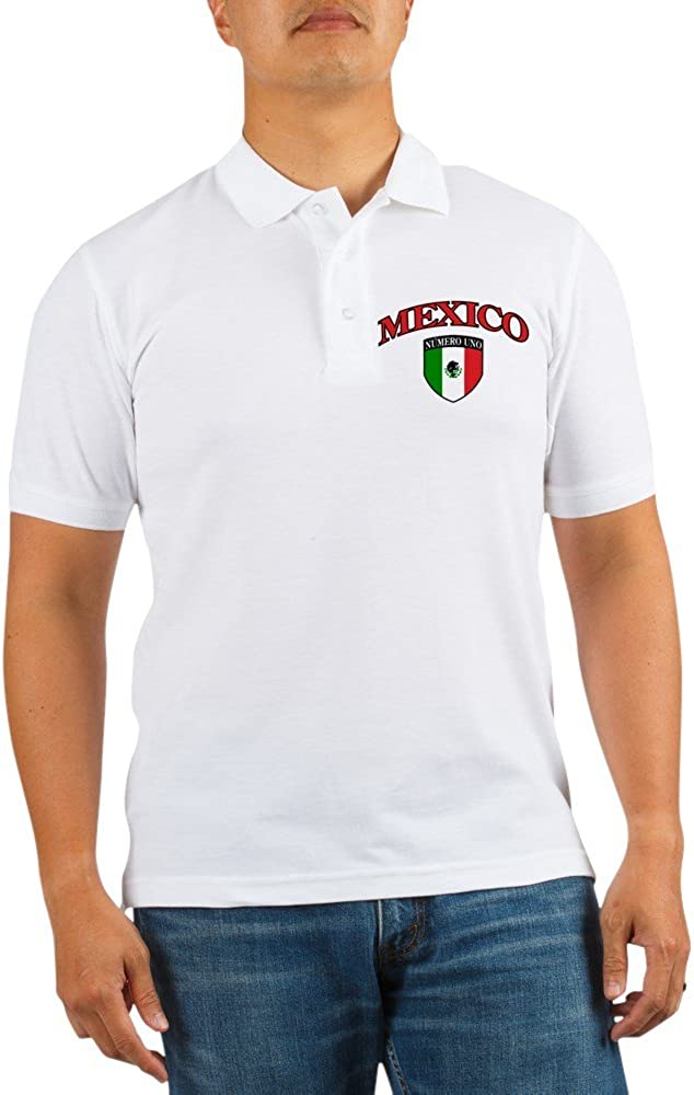 Royal Ranking TOP17 Lion Golf Shirt Mexico Uno NEW before selling ☆ Numero Mexican Flag