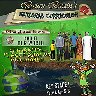 Brian Brain's National Curriculum - Geography - Places Around Our World cover art