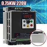 MASUNN 0.75 Kw 220V Simple A 3 Fase Variable De Frecuencia Variador De Velocidad Del Motor Convertidor