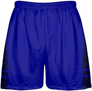 Blue LightningWear Youth Red Royal Blue Hawaiian Shorts Black Accent Youth