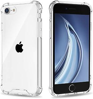 Andokeの iPhone8 / iPhone7 ケース iPhone SE ケース 第2世代 クリアケース TPU超薄型ケース ストラップホール付き全面保護カバー 耐衝撃